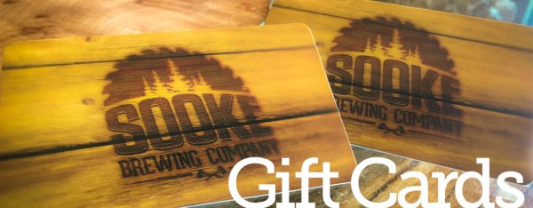 Sooke brewing gift cards